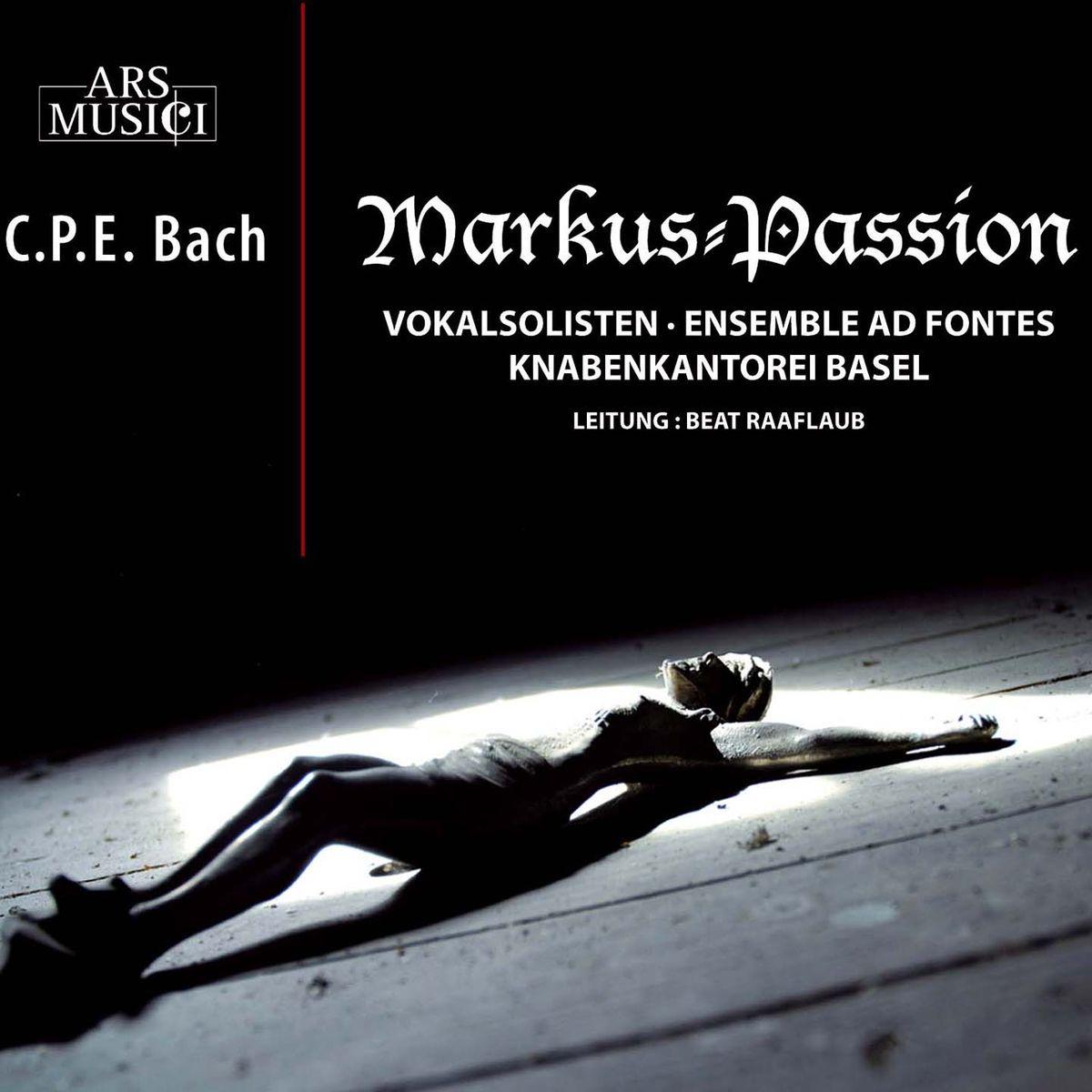лучшая цена Bovet, Labusch, Turk, Sigrist, Pachner, Koch, Knabenkantorei Basel, Ensemble Ad Fontes, Beat Raaflaub. CPE Bach: Markus-Passion (2 CD)