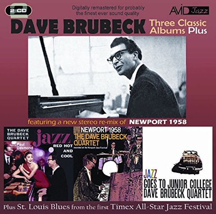 Dave Brubeck. Brubeck - Three Classic Albums (2 CD) the dave brubeck quartet the dave brubeck quartet time out lp