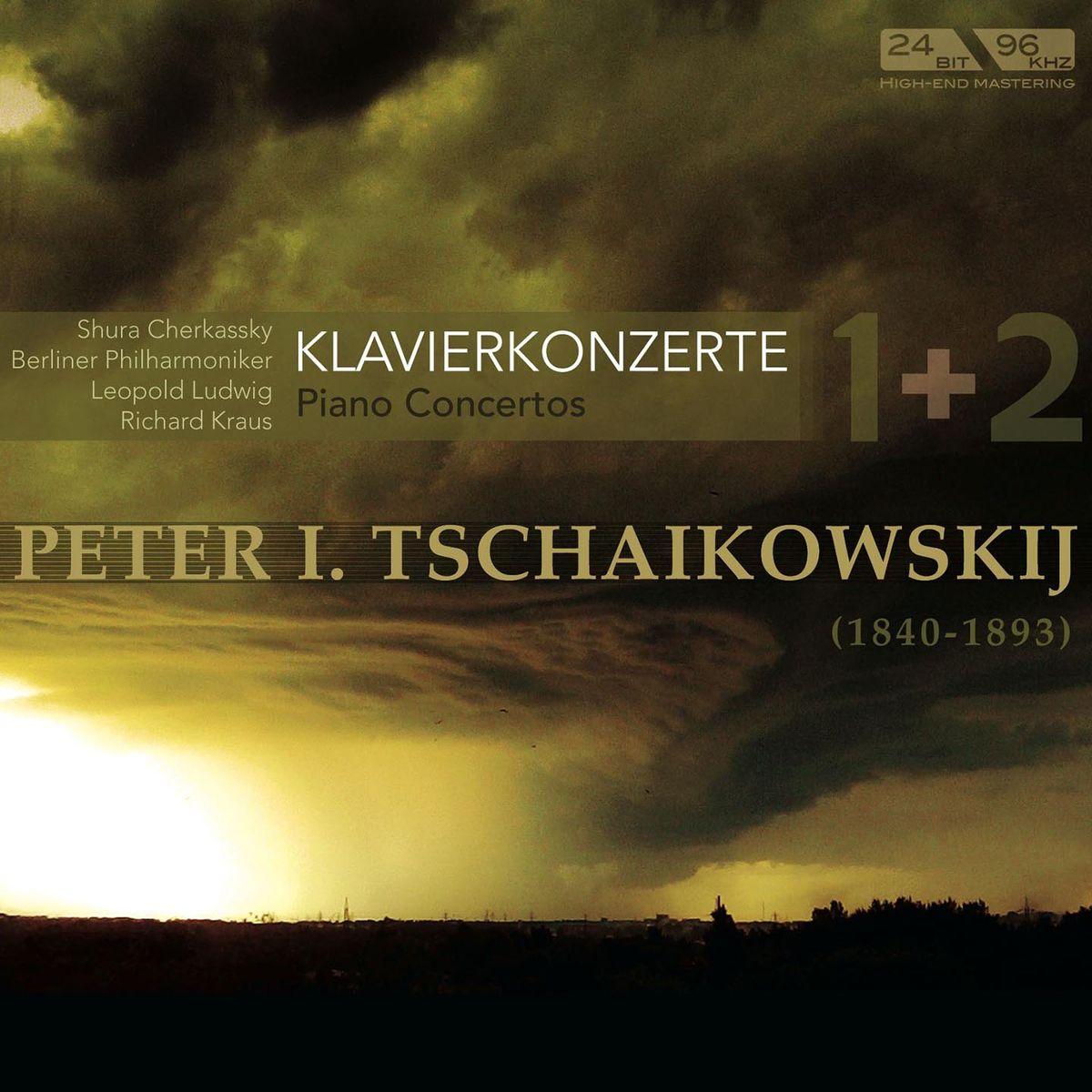 Berlin Philh. Cherkassky, Kraus Ludwig. Tchaikovsky: Klavierkonzerte 1&2 (Piano Concertos 1&2)