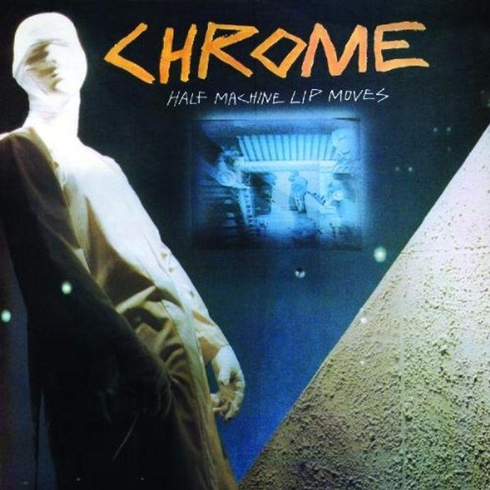 Chrome Chrome. Half Machine Lip Moves (LP) haiba hb4813 chrome
