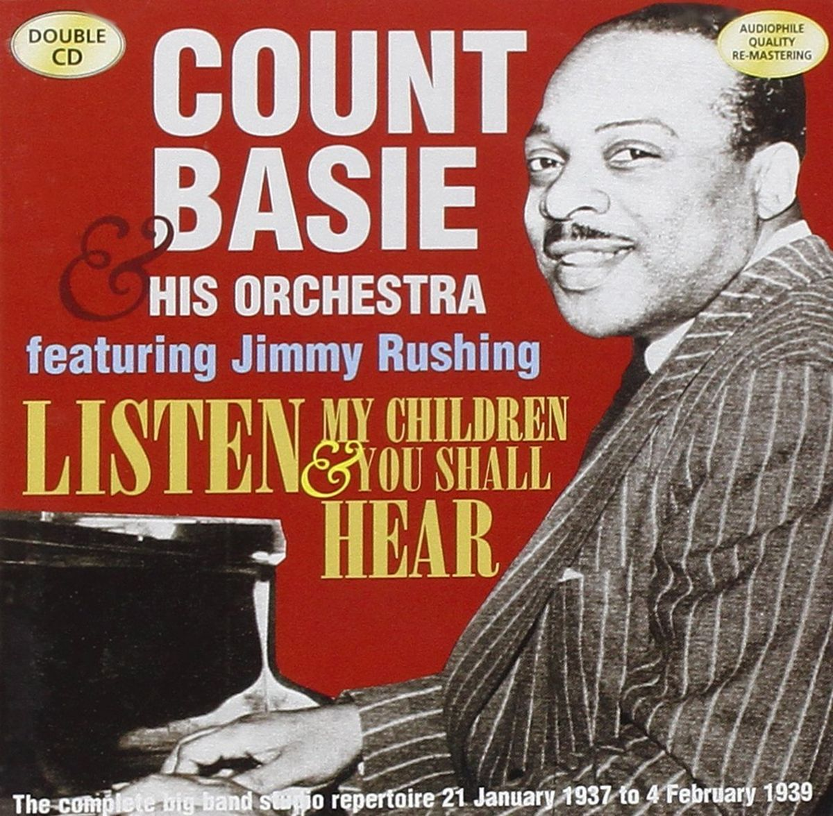 Count Basie & His Orchestra. Basie - Listen My Children (2 CD) рэй чарльз the count basie orchestra ray charles ray sings basie swings
