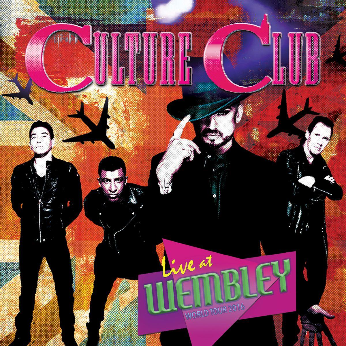 Culture Club. Live At Wembley - World Tour 2016 (2 LP) culture club cardiff