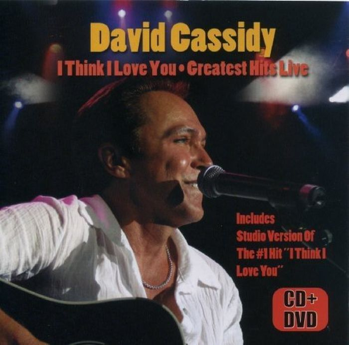 David Cassidy. I Think I Love You - Greatest Hits Live (CD + DVD) цена