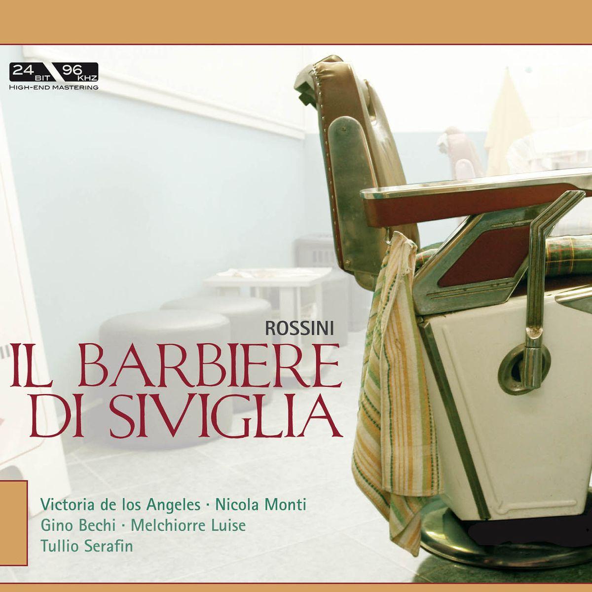 De Los Angeles, Monti, Serafin. Rossini: Il Barbiere di Siviglia (2 CD) santo monti il comune di como