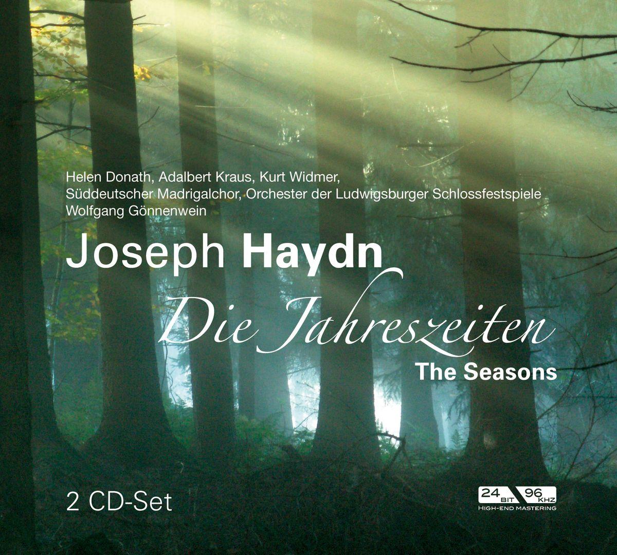 Donath, Kraus, Widmer. Haydn: Die Jahreszeiten / The Seasons (2 CD)