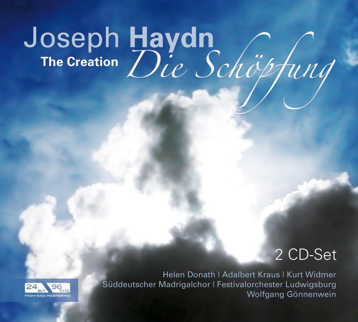 Donath, Kraus, Widmer. Haydn: The Creation (2 CD)
