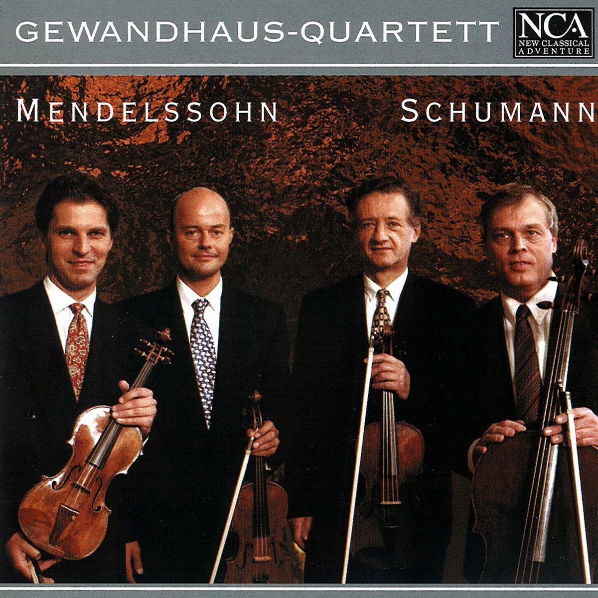цена на Gewandhaus-Quartett. Mendelssohn: Streichquartett D-Dur op. 44 Nr. 1 / Schumann: Streichquartett a-Moll op. 41 Nr. 1