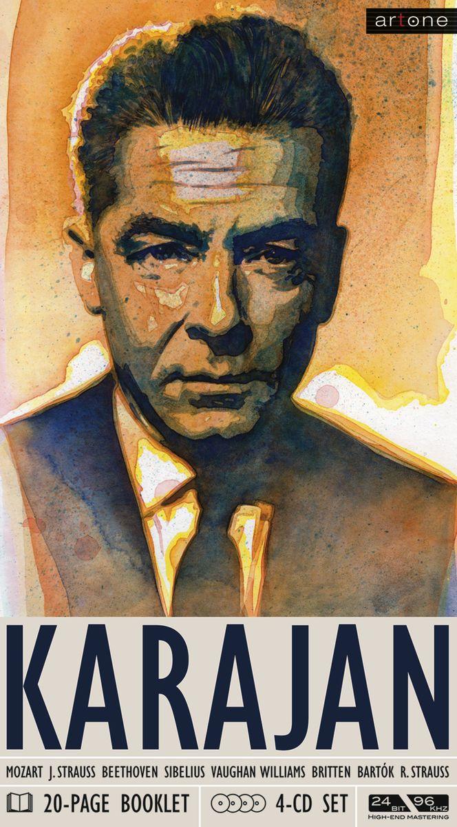 Herbert Von Karajan. Herbert von Karajan (4 CD) цена в Москве и Питере