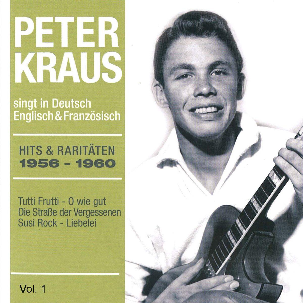 Peter Kraus. Hits und Raritaten 1956-1960 (4 CD)