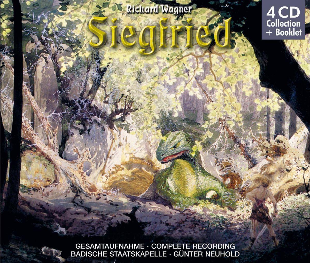 Neumann, Weinschenk, Wegner, Neuhold. Wagner: Siegfried (4 CD) richard wagner siegfried idyll