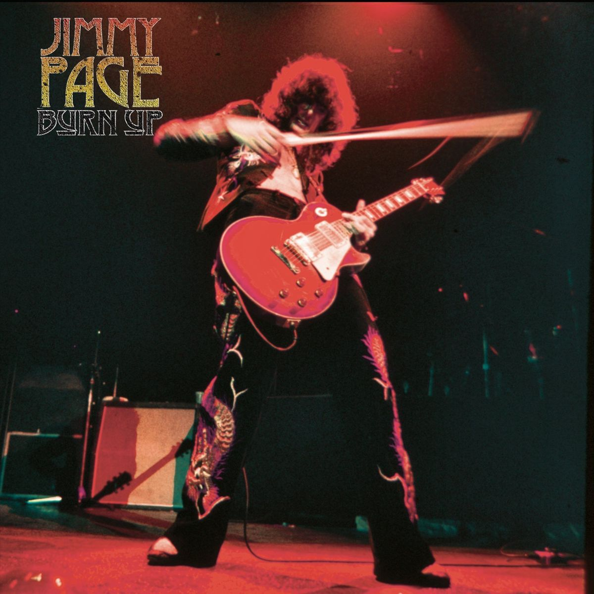 Jimmy Page. Burn Up (LP) jimmy page jimmy page playin up a storm