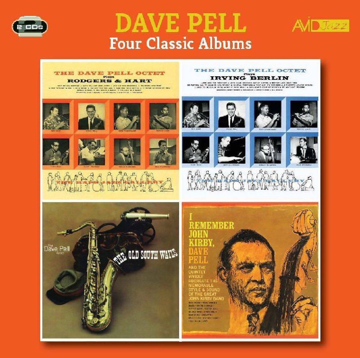 Dave Pell. Pell - Four Classic Albums (2 CD)