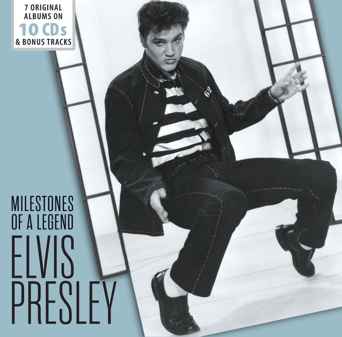 Элвис Пресли Elvis Presley. Original Albums, Soundtracks und Bonustracks (10 CD)
