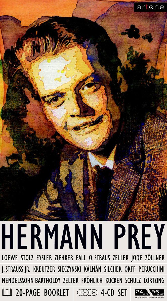 Херманн Прей Hermann Prey. Portrait (4 CD) night prey