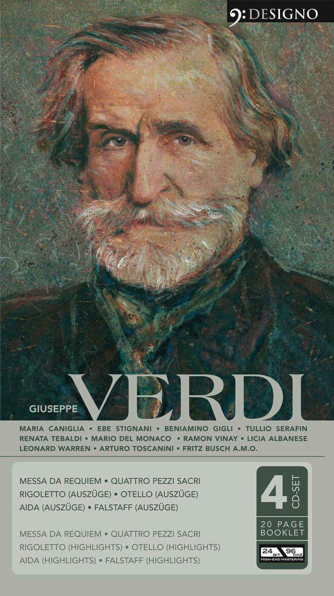 Giuseppe Verdi. Messa Da Requiem (4 CD) giuseppe verdi falstaff