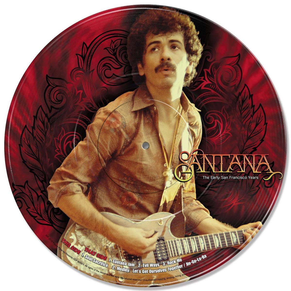 лучшая цена Santana. The Early San Francisco Years (LP)