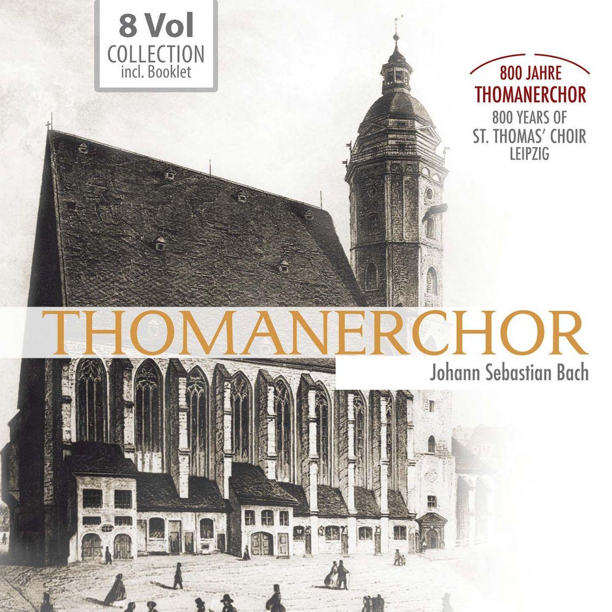 Thomanerchor. Jauchzet, Frohlocket! 800 Jahre Thomanerchor, Leipzig / Rejoice and be glad – 800 years of St. Thomas' choir, Leipzig (8 CD)