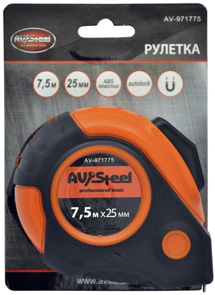 Измерительная рулетка AV Steel AV-971775