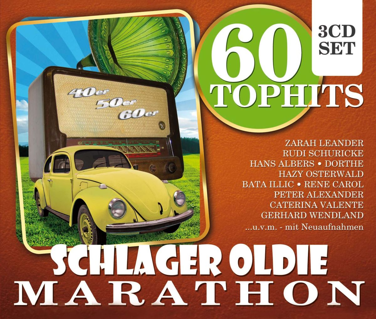 60 Top Hits Schlager Oldie Mar (3 CD) dance top hits 6 4 cd