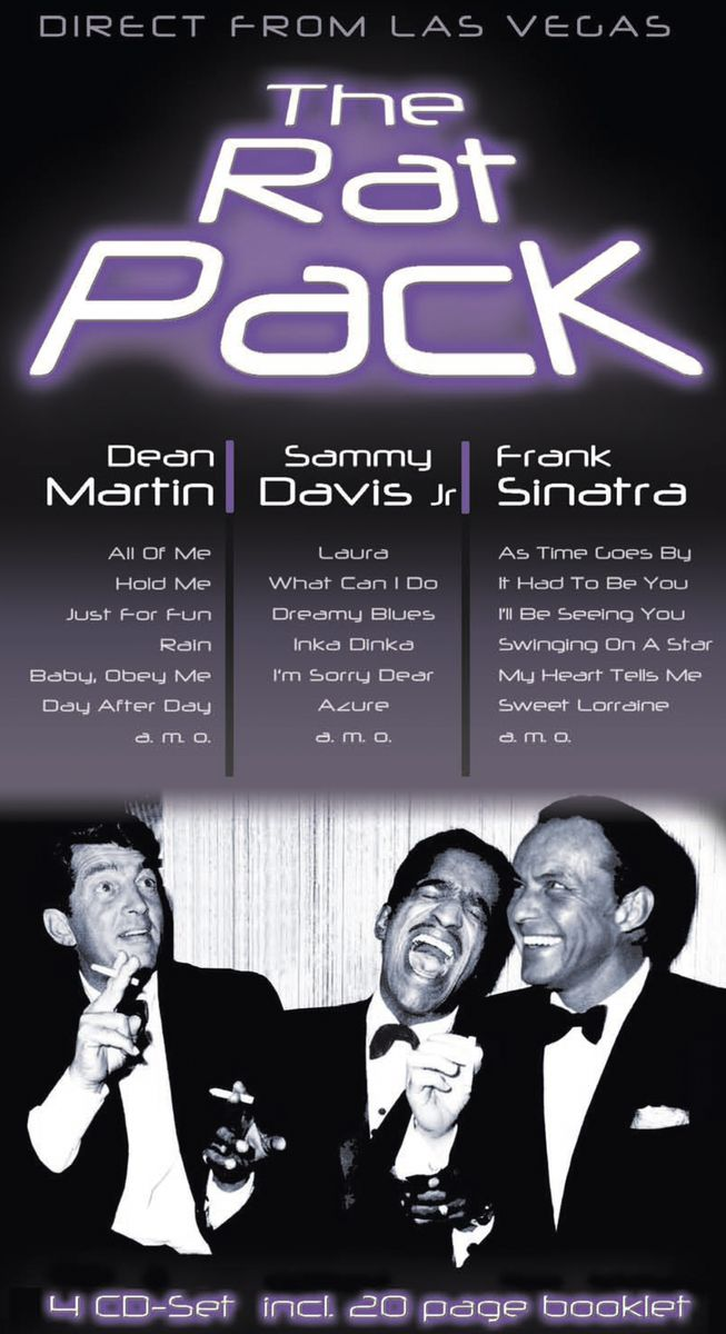The Rat Pack The Rat Pack. Direct From Las Vegas (4 CD) light reflective toilet stickers 4 pack