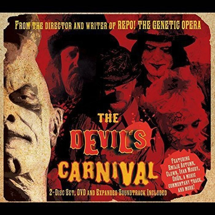 Various Artists. The Devil's Carnival (CD + DVD) various artist facedown fest 2004 2 dvd