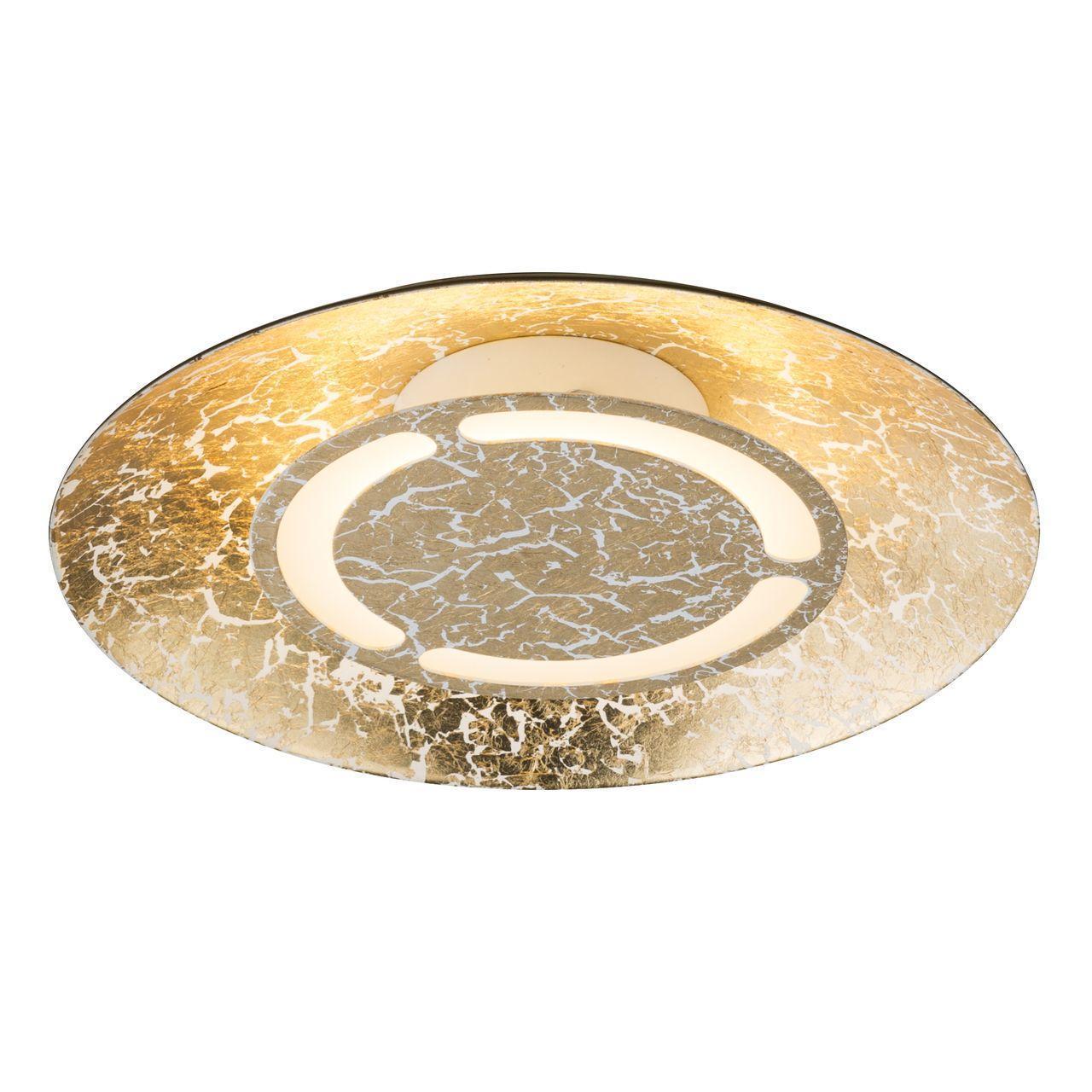 Потолочный светильник Globo 41900-6, золотой потолочный светодиодный светильник globo cyris 49229 6