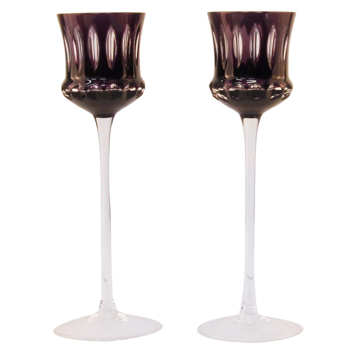 Бокалы для ликера от Faberge. Хрусталь, гранение. Faberge, Франция, 1990 год faberge