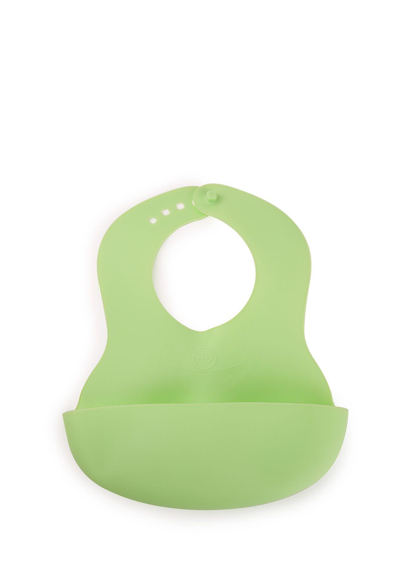 Слюнявчик Happy Baby 16000 зеленый