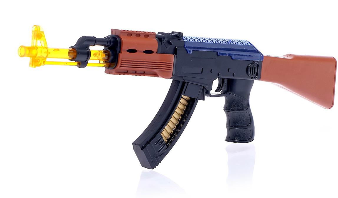 Игрушечное оружие Автомат АК-47, 4123335