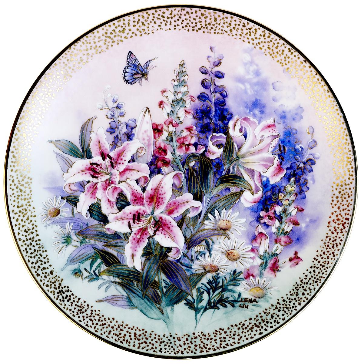 цены на Декоративная тарелка W.J.George Лена Лю