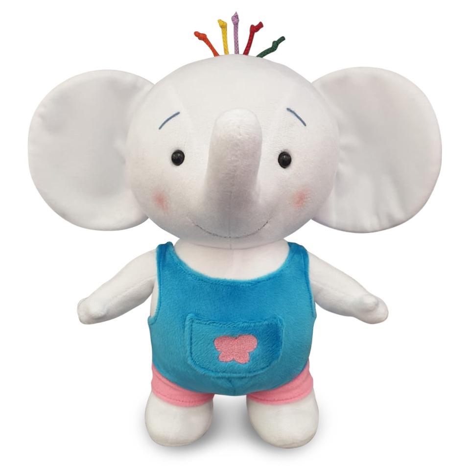 Мягкая игрушка слоненок Тома 30см тима и тома посуда для кукол в гостях у томы
