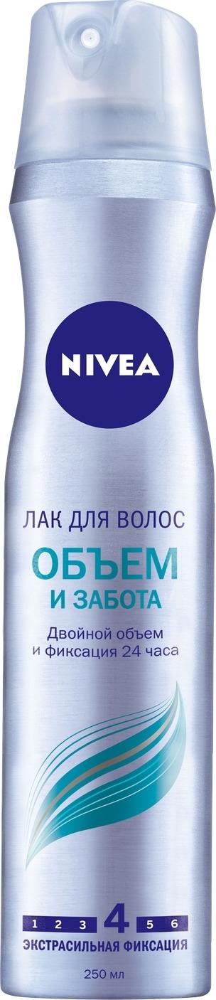 """Лак для волос Nivea """"Объем и забота"""", 250 мл"""