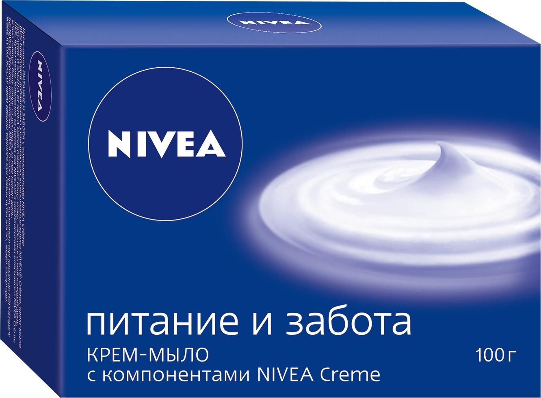 Крем-мыло Nivea Питание и забота, 100 гр крем для сухой кожи nivea