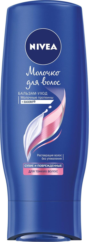 Nivea Бальзам-уход Молочко для тонких волос, 200 мл