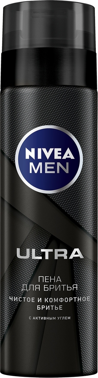 Nivea Пена для бритья Ultra, 200 мл увлажняющая пена для бритья nivea защита и уход 200 мл