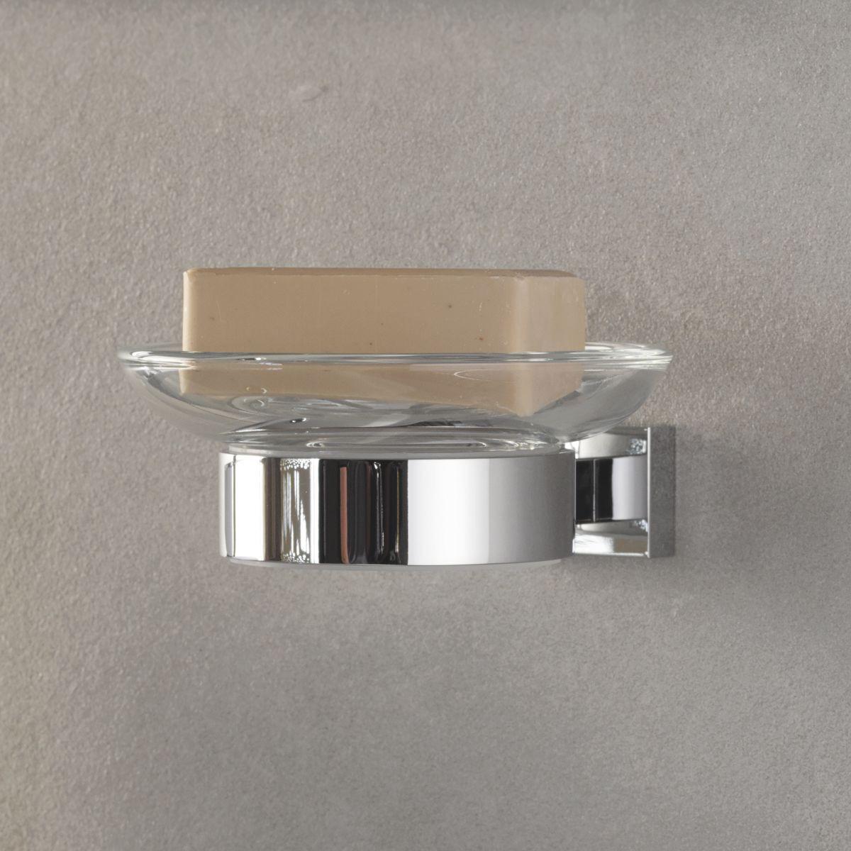 Подстаканник для ванной Grohe Essentials Cube, 40508001, серебристый цена