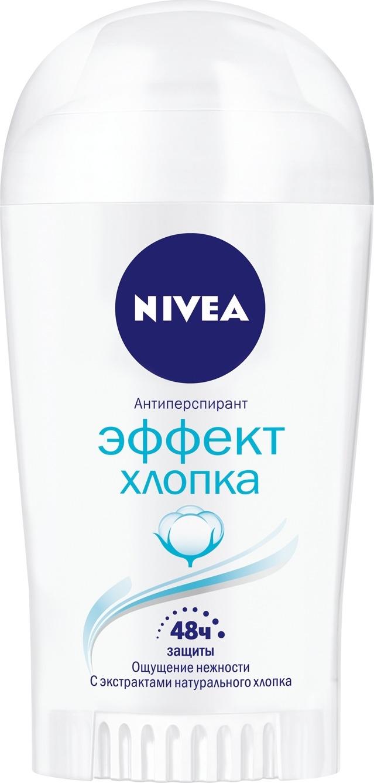 Дезодорант Nivea Эффект хлопка, стик, 40 мл