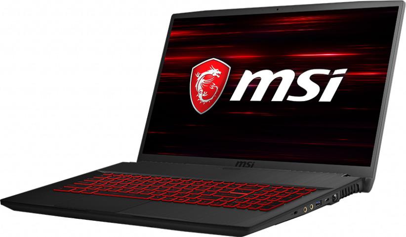 Игровой ноутбук MSI GF75 Thin 8RC 9S7-17F112-206, черный