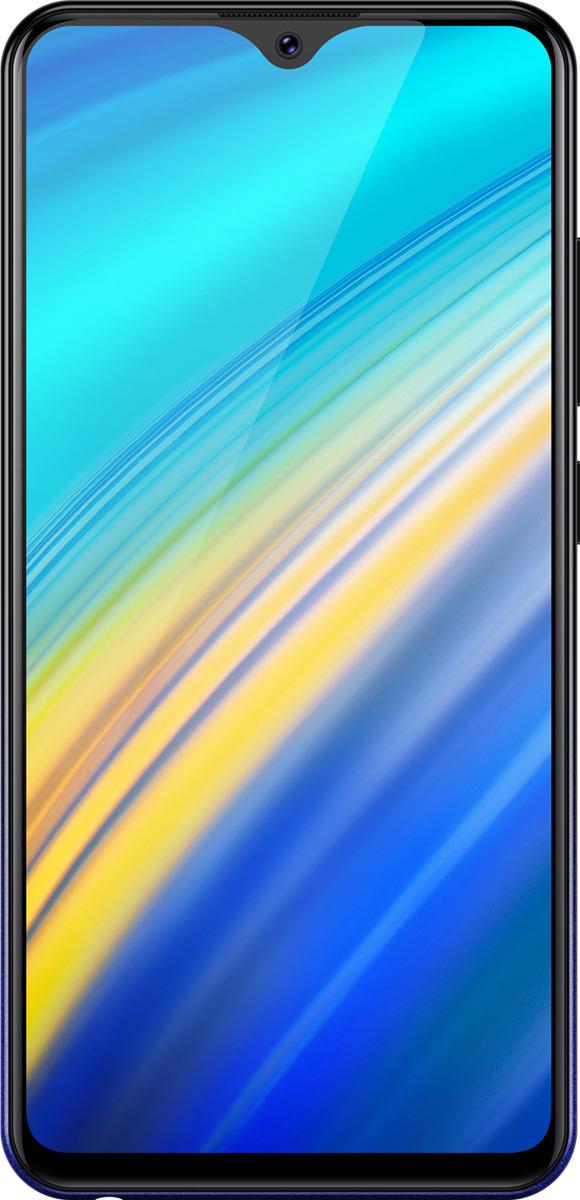 Смартфон Vivo Y91i 2/32GB starry black смартфон vertex impress saturn 4g black spreadtrum sc9832 1gb 8gb 5 1280x720 5mpix 2mpix 2 sim 3g lte bt wi fi gps android 7 0