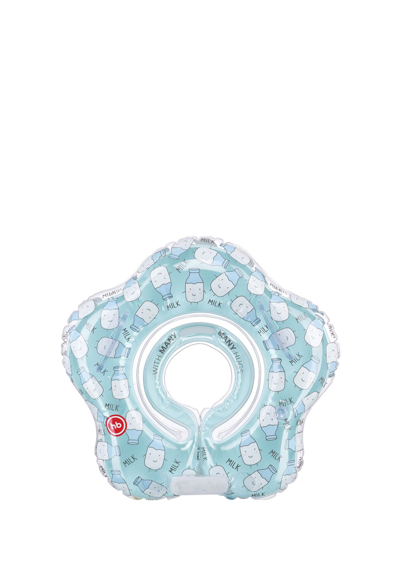 Круг для купания Happy Baby SWIMMER голубой надувной круг happy baby swimmer 121005