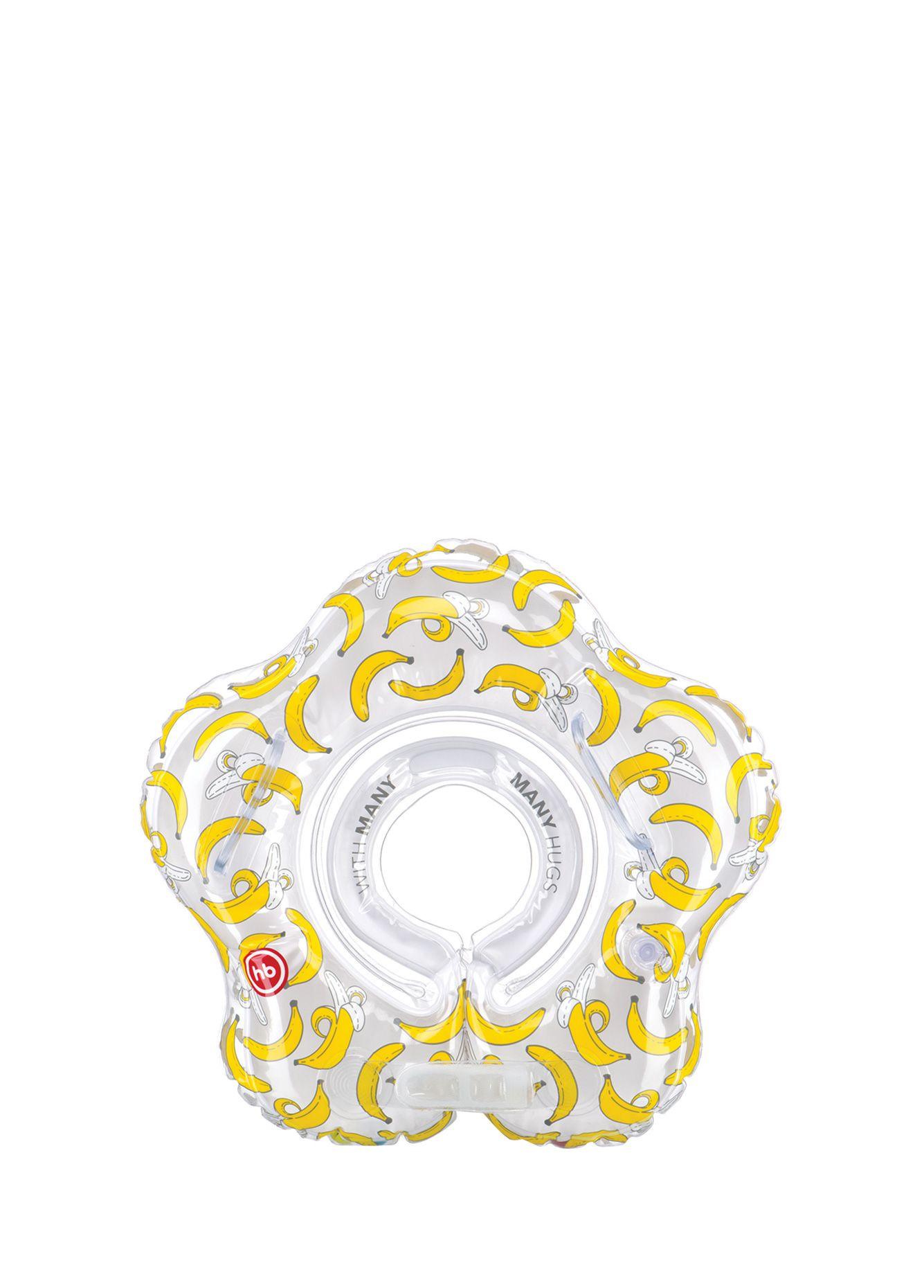 Круг для купания Happy Baby SWIMMER желтый надувной круг happy baby swimmer 121005