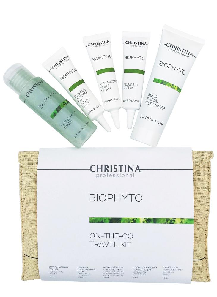 Дорожный набор Bio Phyto On The Go Travel kit bio phyto refreshing toner освежающий тоник 300 мл christina bio phyto