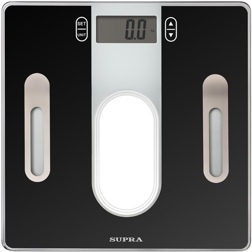 Напольные весы Supra BSS-6400, черный цены