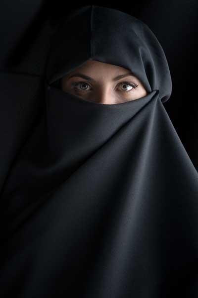 <b>Картина Экорамка</b> Женщина в никабе, Холст — купить в ...