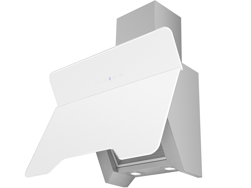 Вытяжка MBS FELICIA 160 GLASS WHITE, белый цена