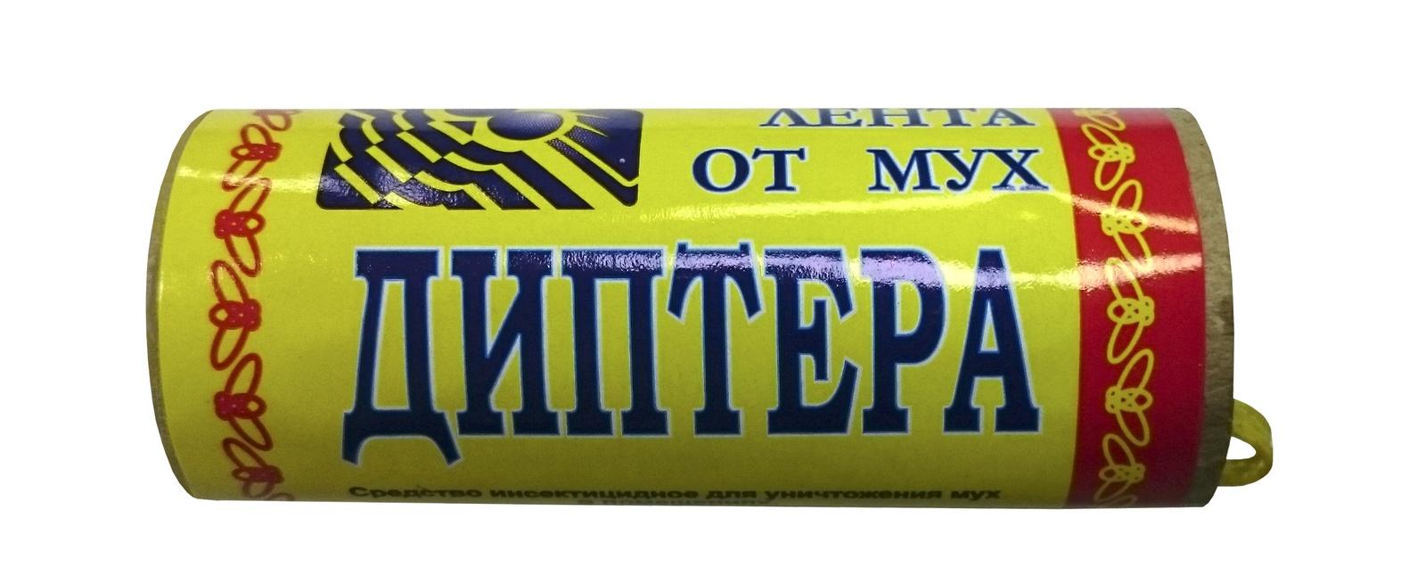 ДИПТЕРА липкая лента от мух, упаковка 104 шт. средство от мух в помещении