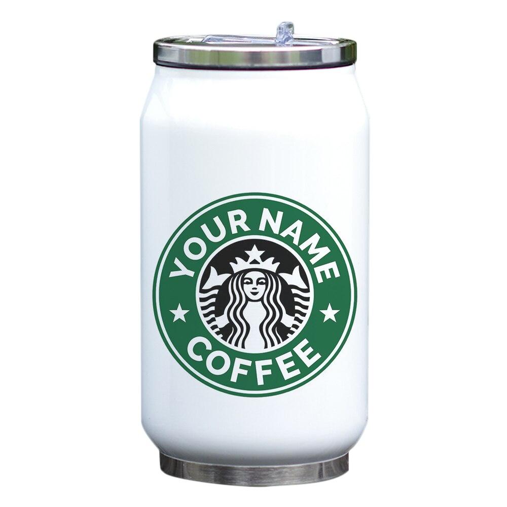 Термокружка Starbucks, белый кружка printio starbucks hipster