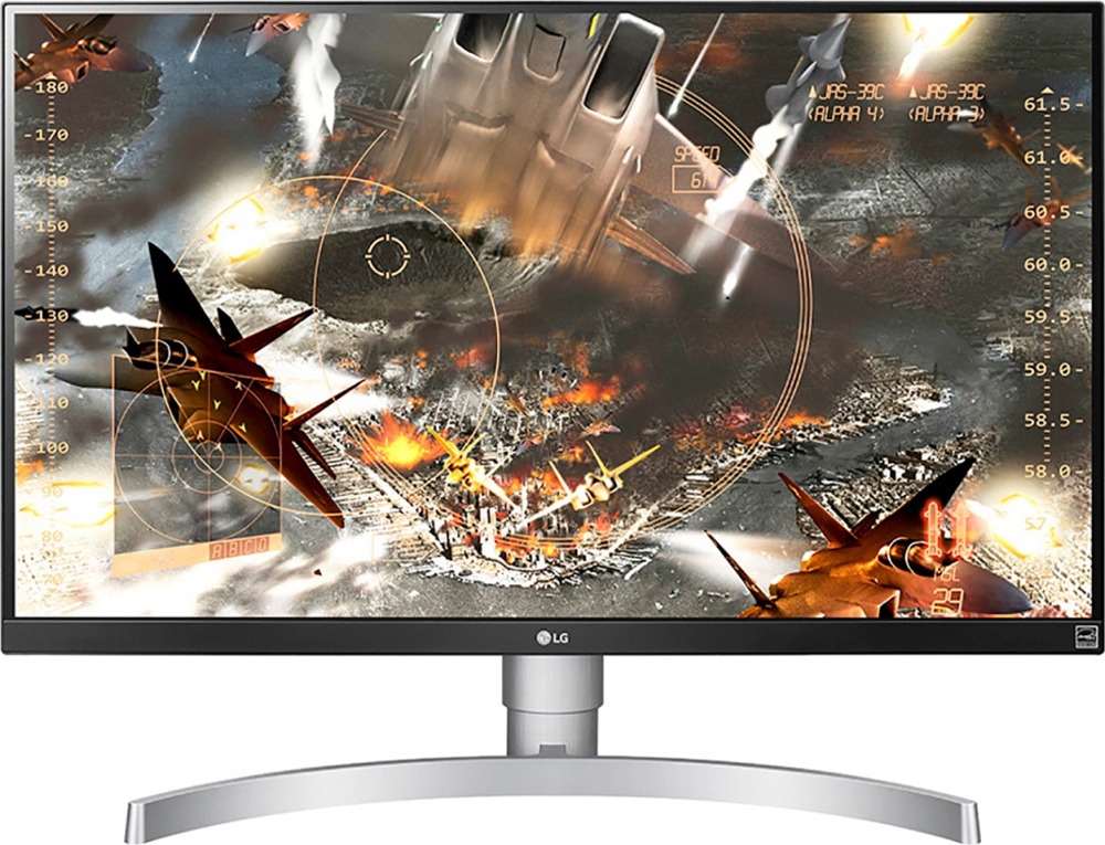 Монитор LG 27UL650-W, белый монитор 27 philips 276e8vjsb ips 3840x2160 5ms hdmi displayport