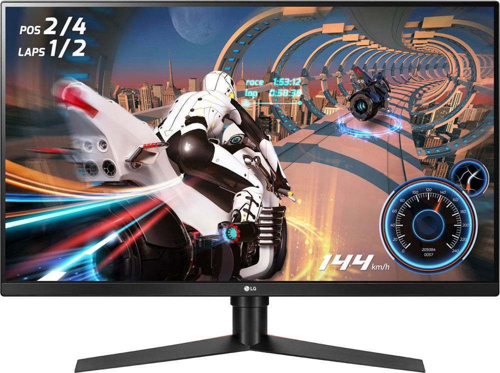 Монитор LG Gaming 32GK650F-B, черный монитор lg 22mk400h b black