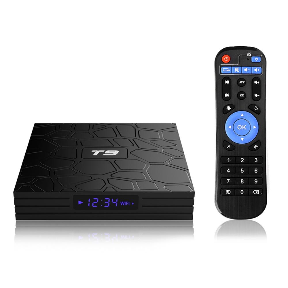 ТВ-тюнер/ресивер TopSeller T9 TV Box, смарт-приставка картина тв не работает